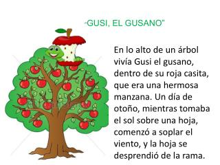 """"""" GUSI, EL GUSANO"""""""