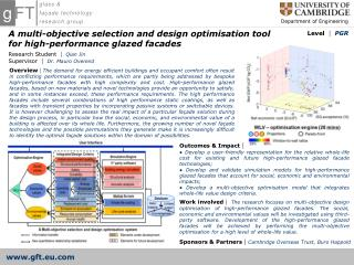 A multi-objective selection and design optimisation tool for high-performance glazed facades