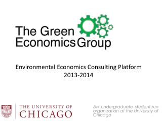 An undergraduate student-run organization at the University of Chicago