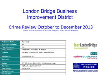 London Bridge Business Improvement District