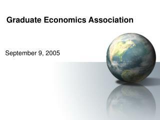 Graduate Economics Association
