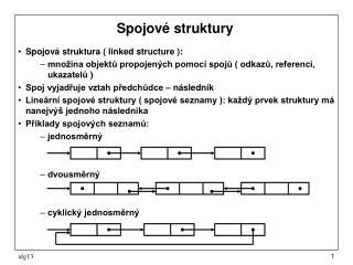Spojové struktury