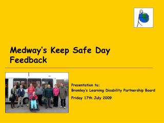 Medway's Keep Safe Day Feedback