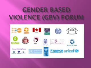 Gender Based Violence (GBV) Forum