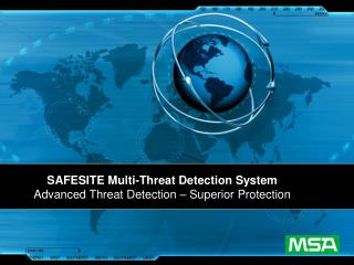 SAFESITE Multi-Threat Detection System Advanced Threat Detection   Superior Protection