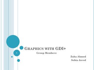 Graphics with GDI+