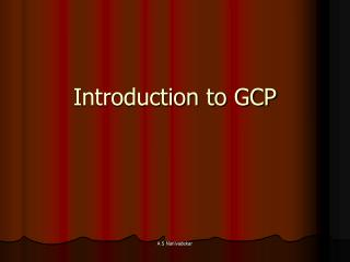 Introduction to GCP