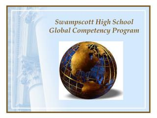 Swampscott High School Global Competency Program