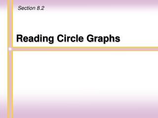 Reading Circle Graphs