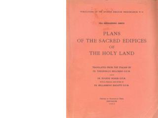 fra bernardino amico trattato delle piante et imagini dei sacri edificii di terra santa roma 1609 partie 1 compressed 20
