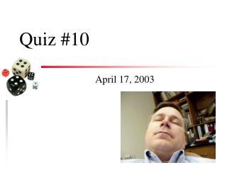 Quiz #10