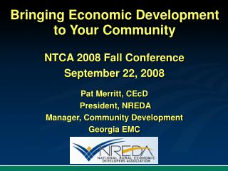 Bringing Economic Development to Your Community