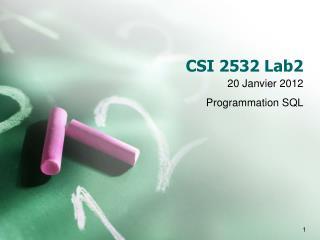CSI 2 5 32 Lab 2