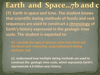 Earth  and  Space…7b and c