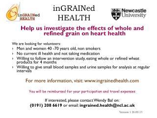 inGRAINed  HEALTH