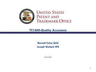 TC1600-Quality Assurance