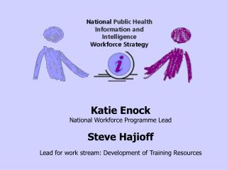 Katie Enock National Workforce Programme Lead Steve Hajioff
