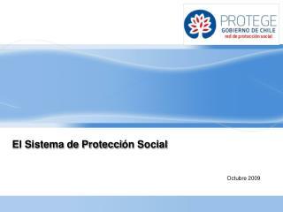 El Sistema de Protecci ón Social