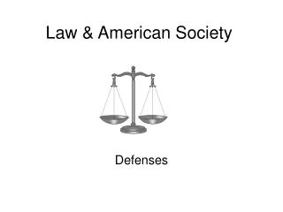 Law & American Society