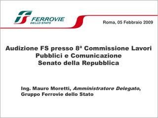 Roma, 05 Febbraio 2009