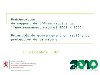 10 décembre 2009