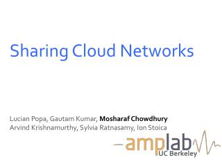 Sharing Cloud Networks