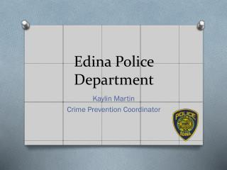 Edina Police Department