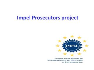 Impel Prosecutors project