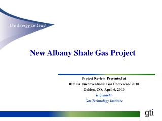 New Albany Shale Gas Project