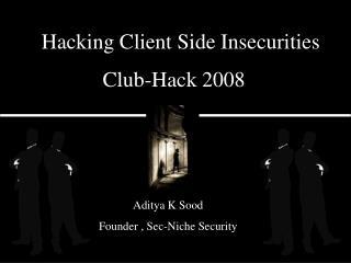 Club-Hack 2008