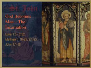 God Becomes Man – The Incarnation