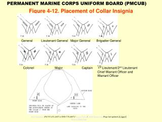 Figure 4-12. Placement of Collar Insignia