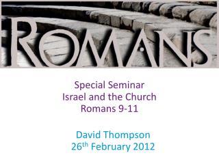 David Thompson 26 th  February 2012