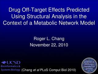 Roger L. Chang November 22, 2010