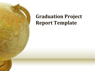 Graduation Project Report Template
