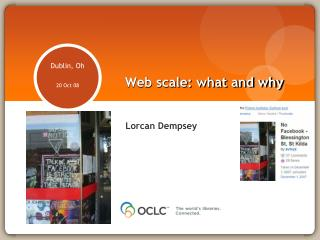Web scale: what and why