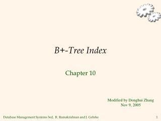 B+-Tree Index