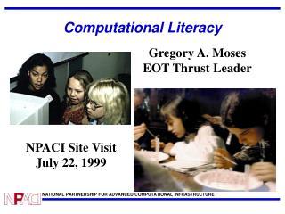 Computational Literacy