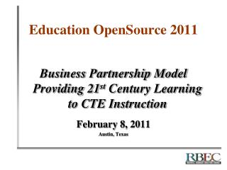 Education OpenSource 2011