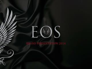 BRAND PRESENTATION 2012