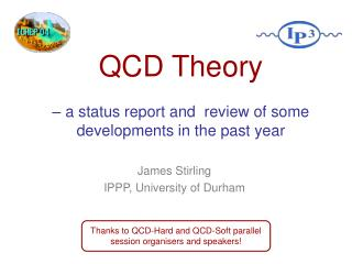 James Stirling IPPP, University of Durham