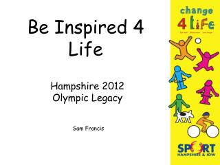 Be Inspired 4 Life