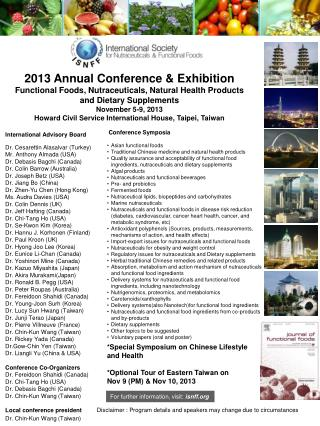 2013 Annual Conference & Exhibition