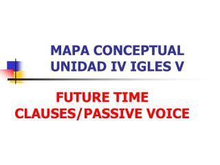 MAPA CONCEPTUAL UNIDAD IV IGLES V