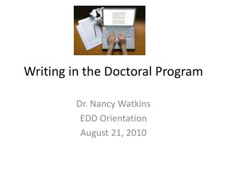 Writing in the Doctoral Program