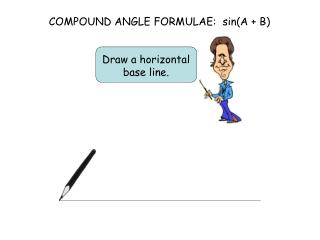 COMPOUND ANGLE FORMULAE:  sin(A + B)