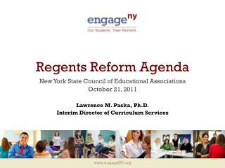 Regents Reform Agenda