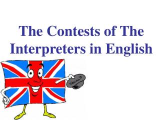The Contests of The Interpreters in English