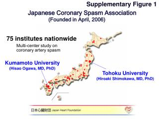 Japanese Coronary Spasm Association (Founded in April, 2006)