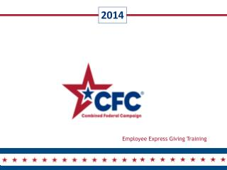 Employee Express Giving Training